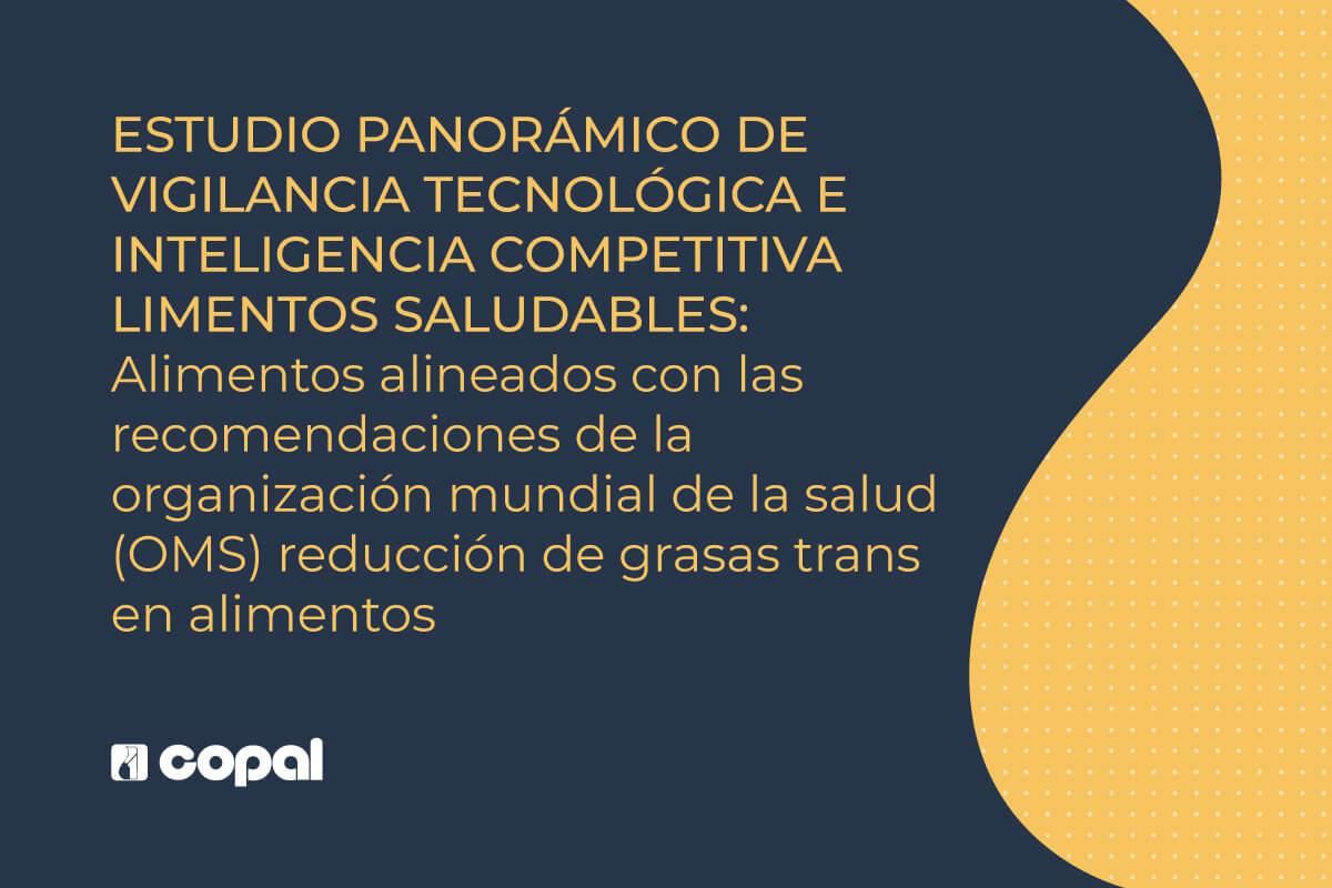 REDUCCIÓN DE GRASAS TRANS EN ALIMENTOS